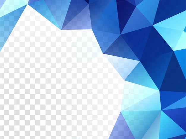 Abstract geometric design transparent background