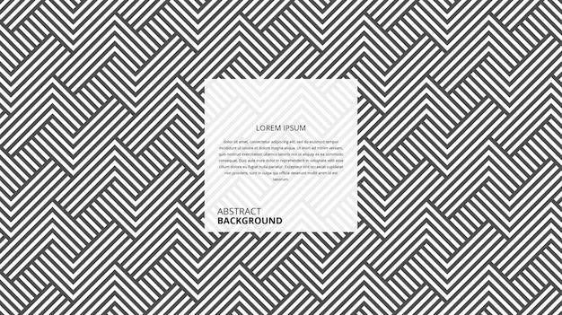 추상적 인 기하학적 대각선 사각형 모양 라인 패턴