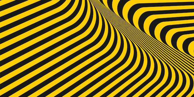 Abstract geometric diagonal yellow and black stripe lines pattern style texture