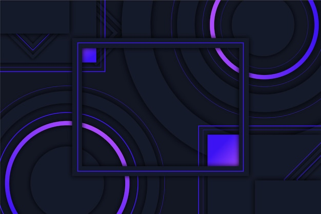 Abstract geometric futuristic background