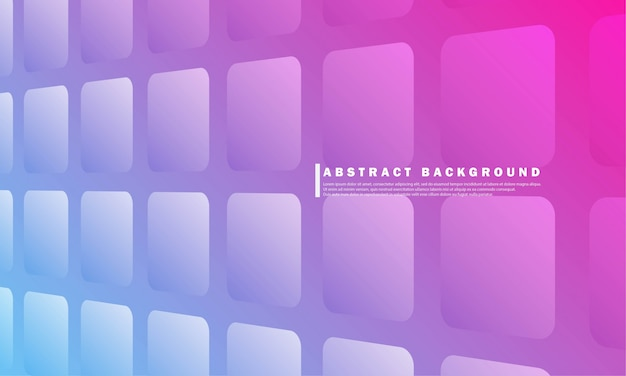Abstract geometric gradient background template