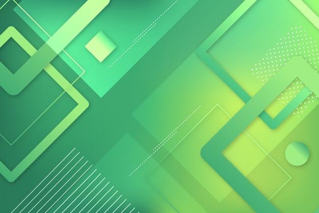 Абстрактный геометрический зеленый фон