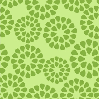 Abstract geometric green pattern. a seamless vector background