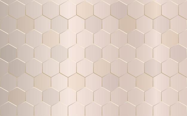 抽象的な幾何学的な六角形の背景。