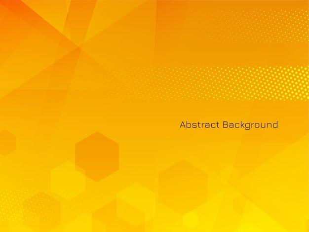 Abstract geometric hexagonal