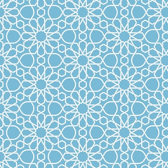 Abstract geometric islamic background