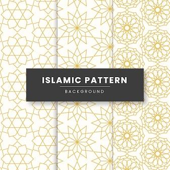 抽象的な幾何学的なイスラムパターンの背景。民族のイスラム教徒の装飾品に基づいています。