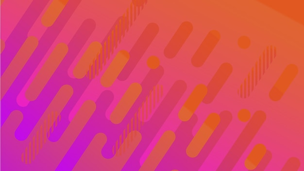 Abstract geometric line pattern background for business brochure cover design yellow red orange ultr...