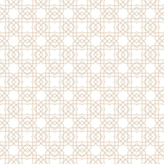 Abstract geometric lines pattern seamless background white gray and gold luxury design.