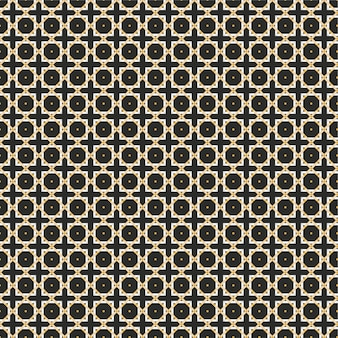 抽象的な幾何学的な線のシームレスパターン