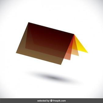 Astratto geometrica logo