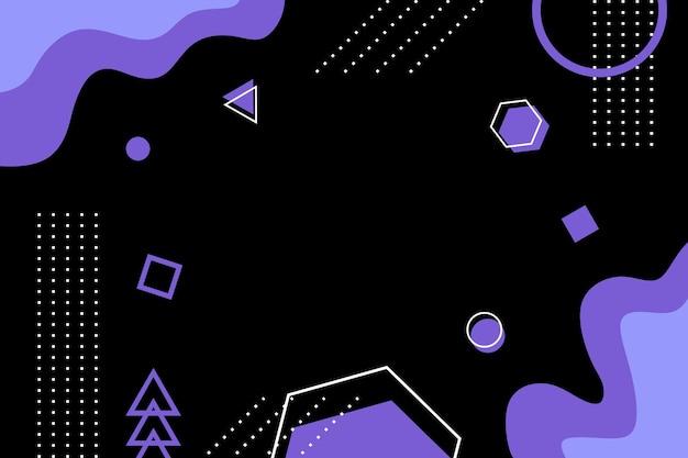 Абстрактный геометрический минималистский фон