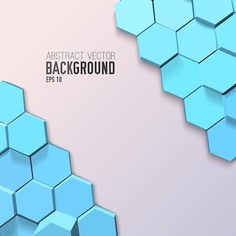 抽象的な幾何学的なモザイクテンプレート