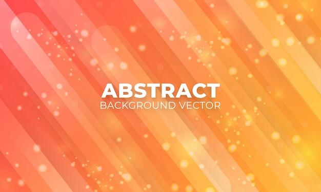 Abstract geometric on orange background