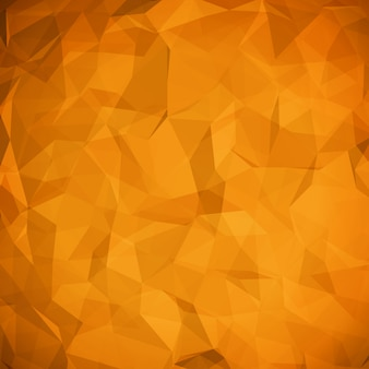 Abstract geometric origami crumbled paper vector background.