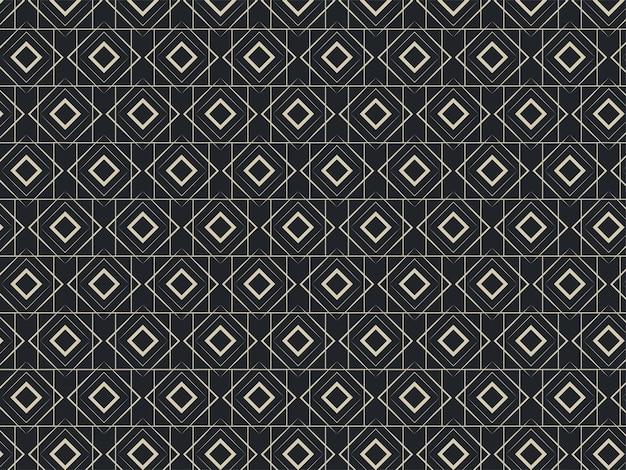 抽象的な幾何学的な重なり合うダイヤモンドパターンの背景。