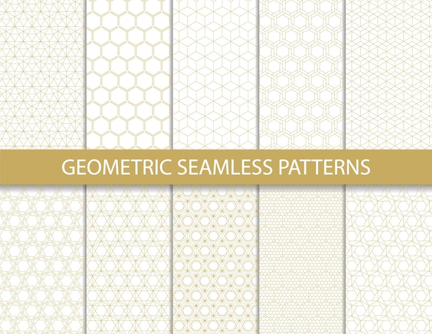 Abstract geometric pattern. seamless vector.