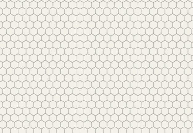 육각형으로 추상 기하학적 패턴