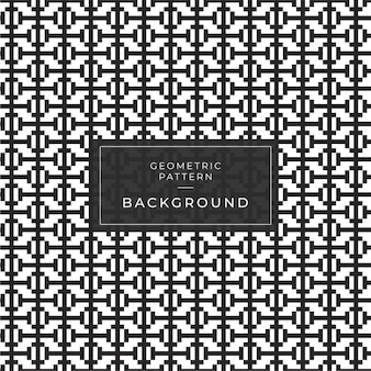 Abstract geometric pattern with stripes, lines. a seamless game background. black and white texture.