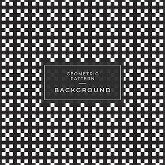 Abstract geometric pattern with stripes lines tile a seamless background. black and white texture.