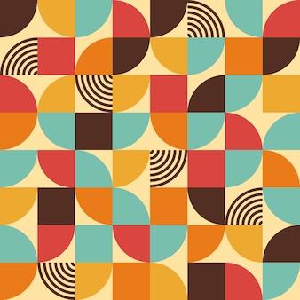 Абстрактный геометрический узор