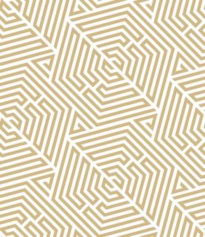 抽象的な幾何学的なパターン