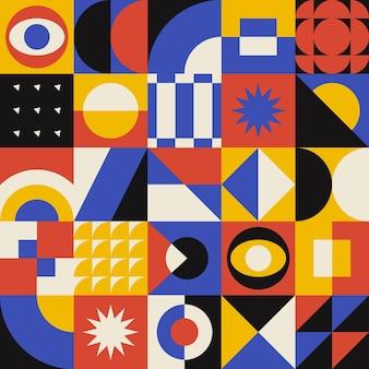 추상 기하학적 패턴
