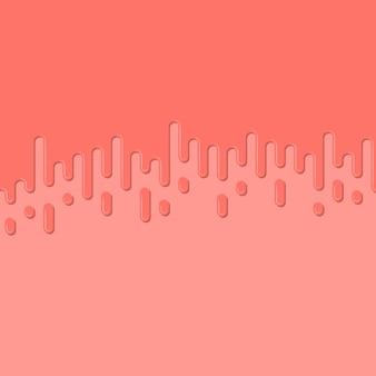 抽象的な幾何学的なピンクのバナー。トレンディなピンク色の背景