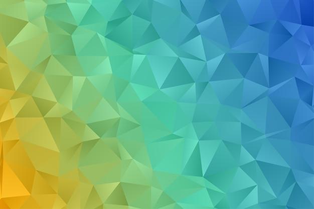 Абстрактный геометрический фон многоугольника. алмазные обои. элегантный узор.