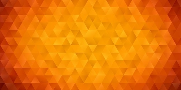 Abstract geometric polygon background wallpaper. header cover with triangle shape low polly colorful yellow