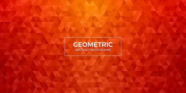 Abstract geometric polygon background wallpaper. header cover with triangle shape low polly