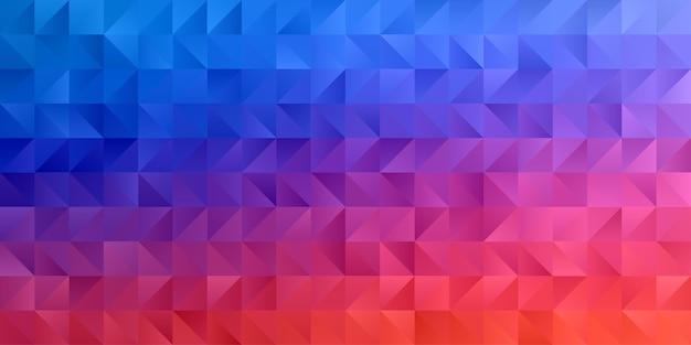 Абстрактные геометрические обои фона многоугольника. низкий узор в форме треугольника