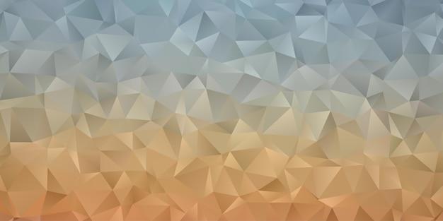 Абстрактные геометрические обои фона многоугольника. низкая треугольная форма