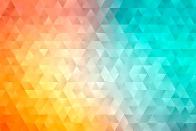 Абстрактный геометрический фон многоугольной. красочный фон низкой поли.