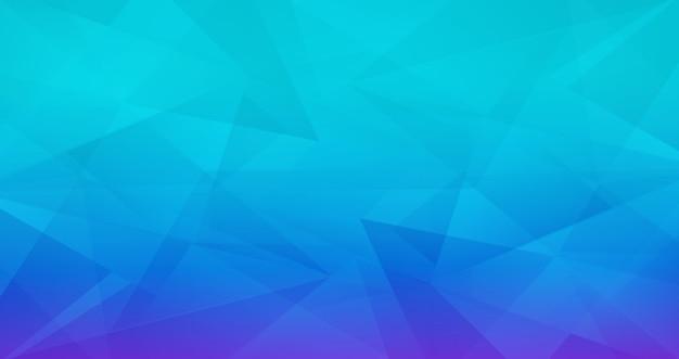 추상적 인 기하학적 다각형 파란색 배경
