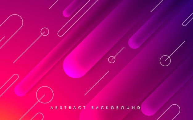 Abstract geometric purple shape background