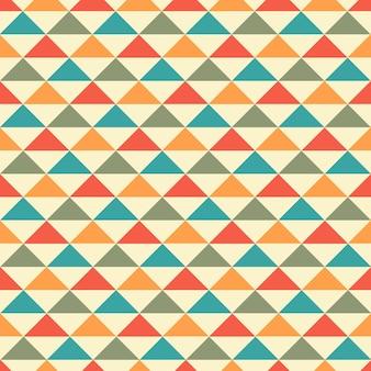 추상적인 기하학적 완벽 한 패턴 배경입니다. 그래픽 현대적인 패턴 질감 밝은 색상