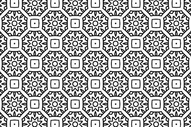 Абстрактный геометрический бесшовный фон фон