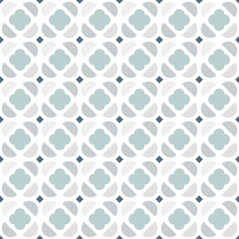 Abstract  geometric seamless pattern in scandinavian style.