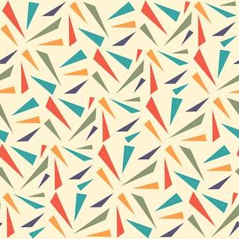 Abstract geometric seamless pattern with triangle. triangle seamless pattern background