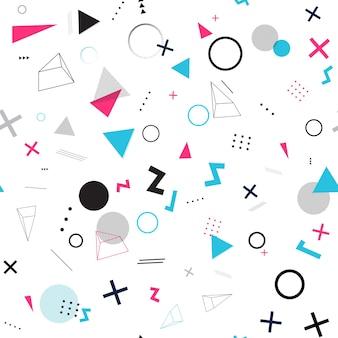 Абстрактный геометрический бесшовный образец