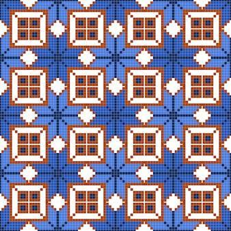 抽象的な幾何学的なシームレスパターン。