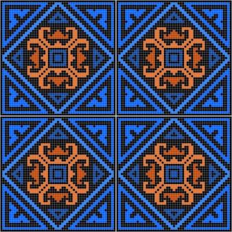 Абстрактный геометрический бесшовный образец.