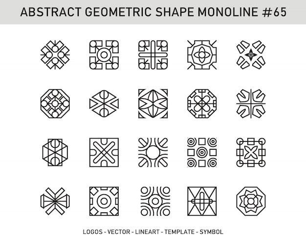 Abstract geometric shape #65