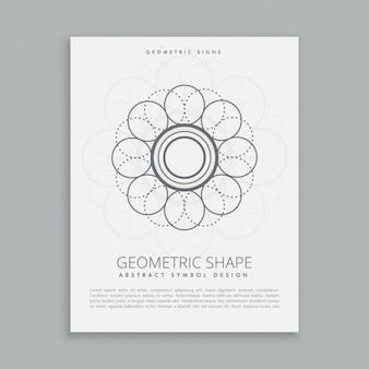 Абстрактные конструкции геометрическая форма