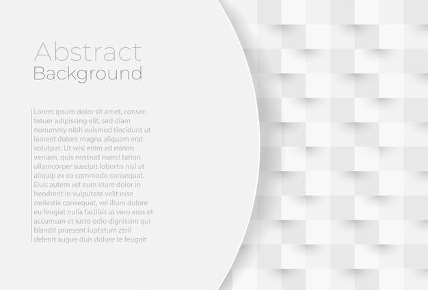 正方形からの抽象的な幾何学的形状