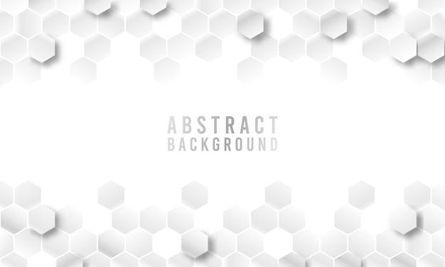 Фон шестиугольника абстрактной геометрической формы, геометрический абстрактный фон с шестиугольниками
