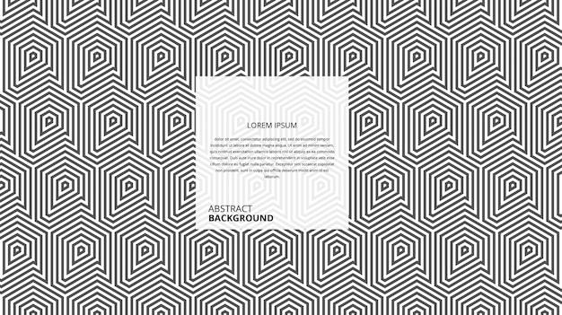 Абстрактные геометрические квадратные ромбовидные линии шаблон