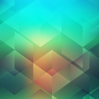 Abstract geometric style design