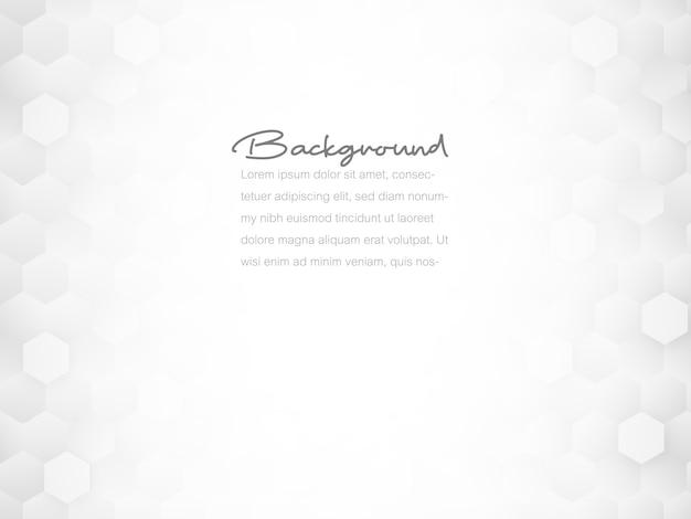 Абстрактная геометрическая текстура сота плитки, белый и серый полигон, предпосылка концепции технологии.